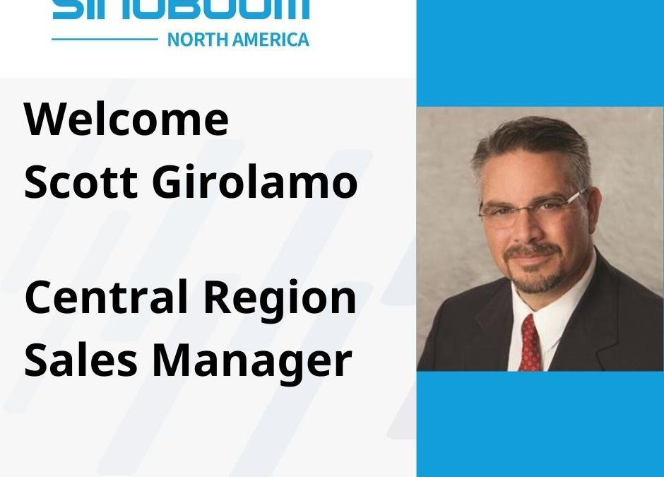 Sinoboom North America Appoints Central Region Sales Manager