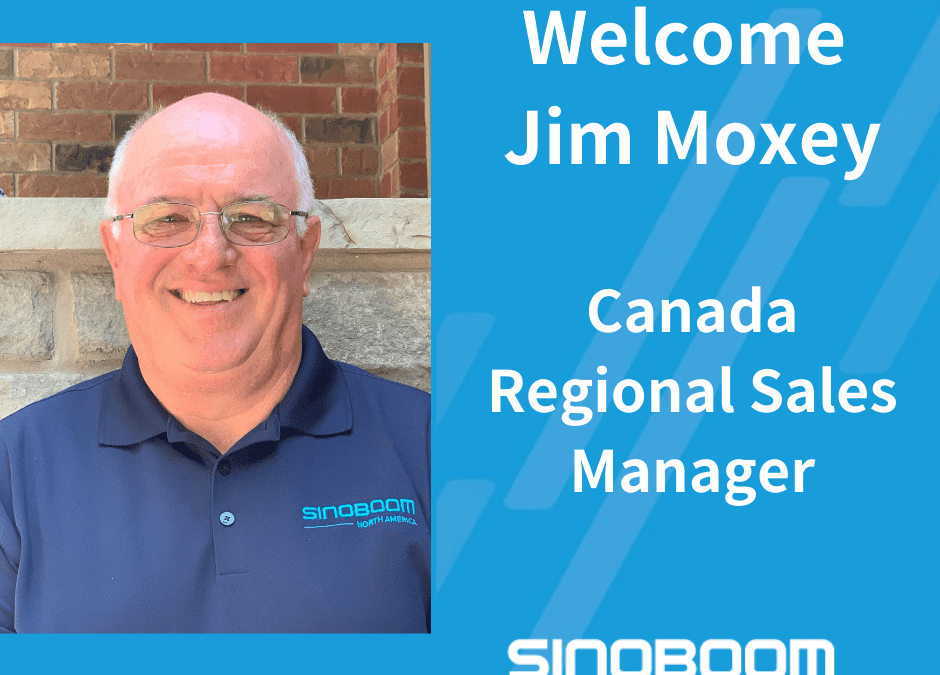 Sinoboom North America Appoints Canada Regional Sales Manager